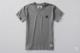 T-shirt Label Szara