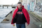 Kurtka Fighter Red-Black