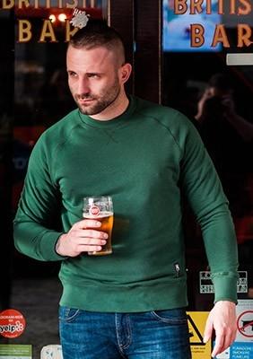Sweatshirt Basic Green