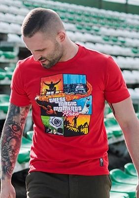 T-shirt Magic Moments Red