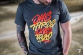 T-shirt OneThreeOneTwo Grey