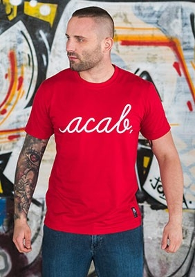 AllColours T-Shirt acab Pure Red