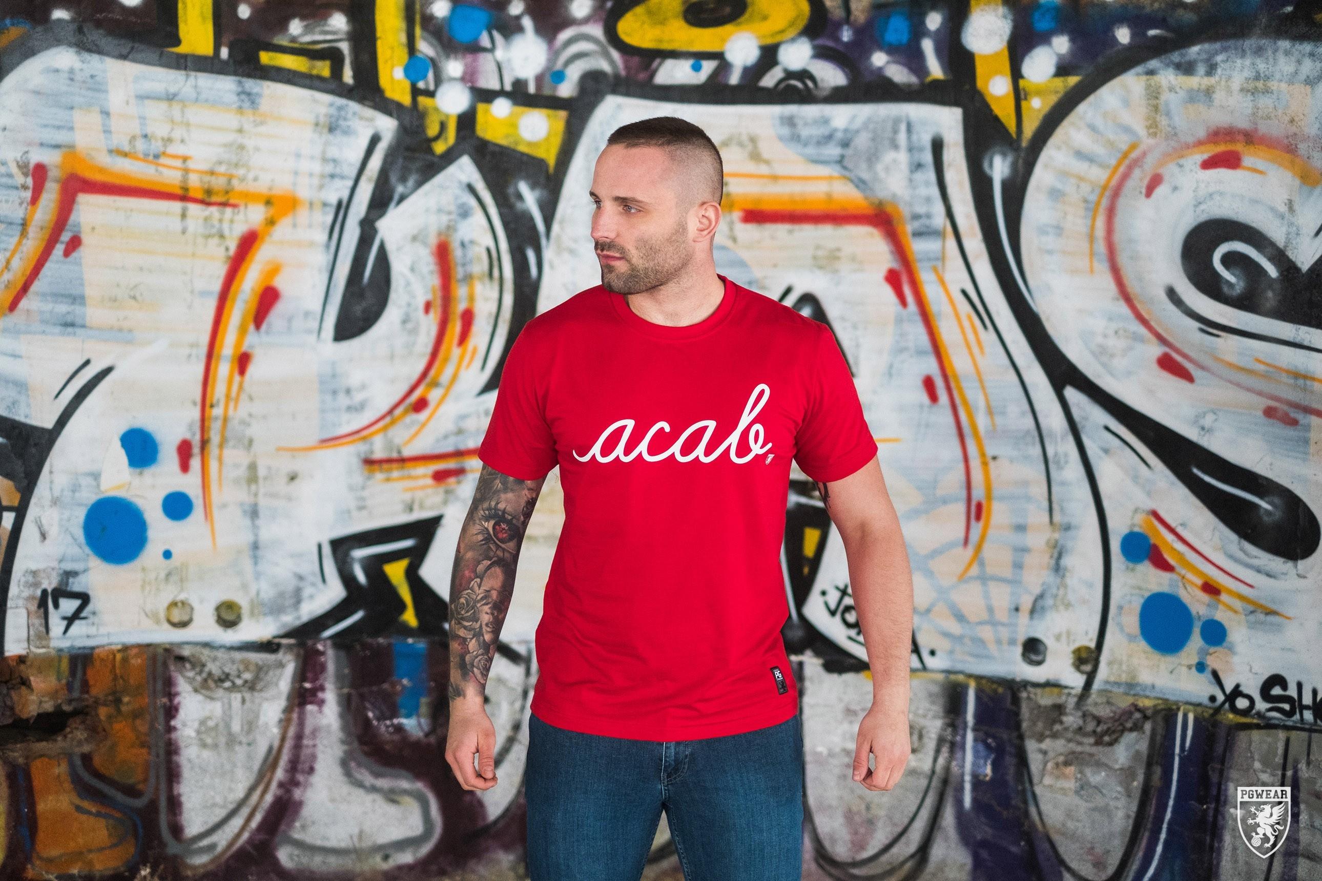 AllColours T-Shirt acab Pure Red