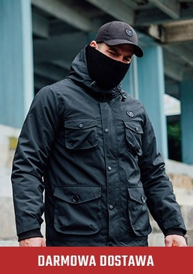 Mask Winterjacke Metropolis Black