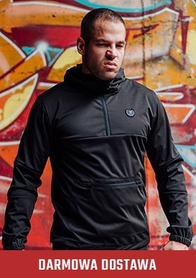 Full Face Softshelljacke Combat Black
