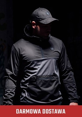 Full Face Softshelljacke Combat Grey