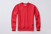 Sweatshirt Regular Red