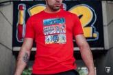 T-shirt Triathlon Red