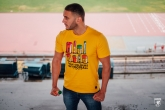 T-shirt Colours of Football Yellow