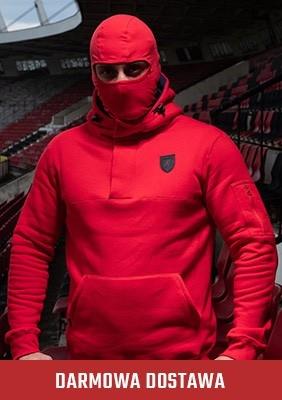 Bluza z kominiarką Frontline`18 Red