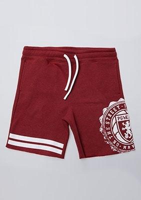 Shorts Bermudas Red