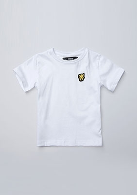 Kinder T-shirt Basic White