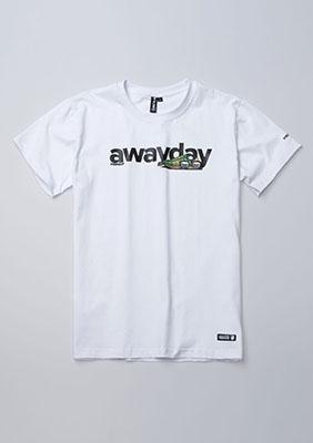 T-shirt Awayday White