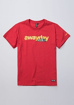 T-shirt Awayday Red