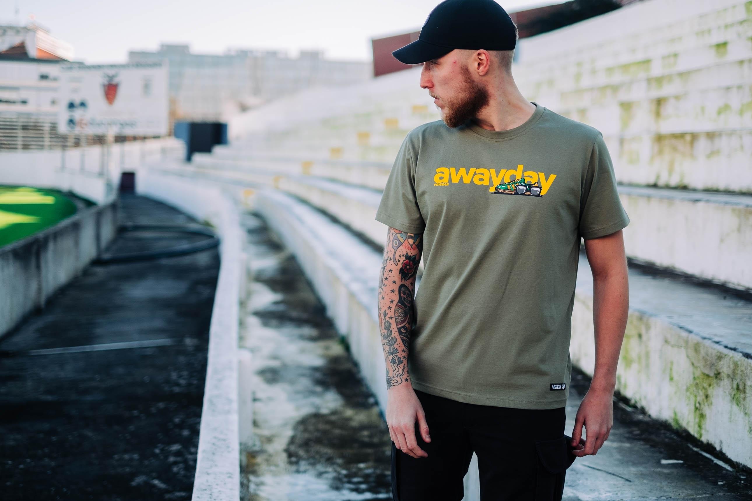 T-shirt Awayday Olive
