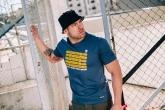 T-shirt Pyro Navy