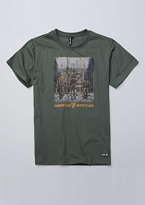 T-shirt Passion Olive