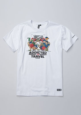 T-shirt Addicted to Travel