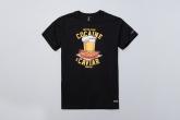 T-shirt Cocaine&Caviar Black