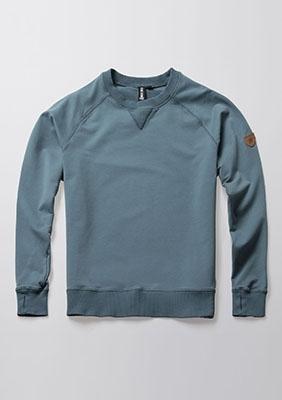 Sweatshirt Regular Stone Blue