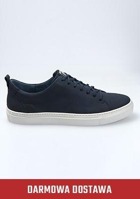 """Sneaker """"Not For Runners"""" Navy"""