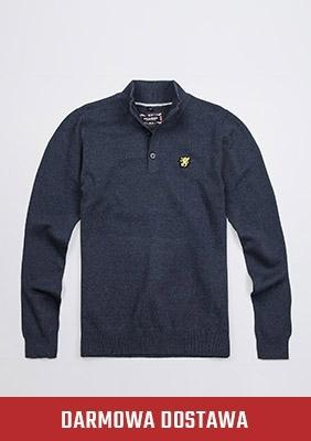 Sweter Staple Navy