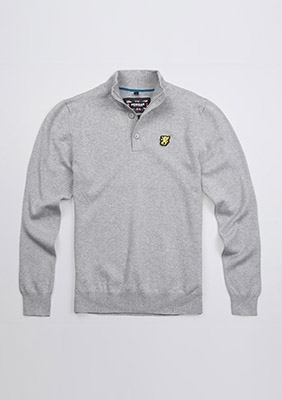 Sweter Staple Grey