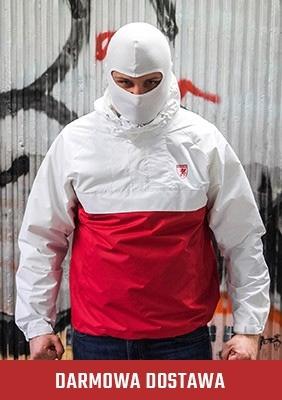AllColors Kurtka Riot Red/White