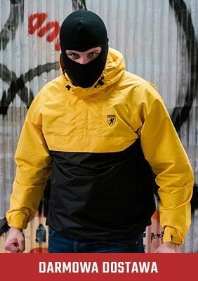 AllColors Kurtka Riot Black/Yellow