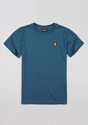 """T-shirt """"Basic"""" Sea Blue"""