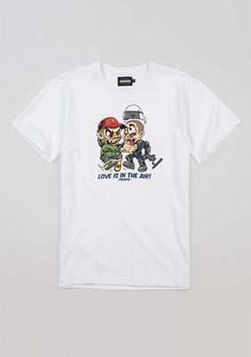 "T-shirt ""Love"" White"