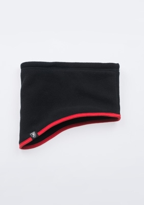 """Neck Warmer """"No Rules"""" Black/Red"""