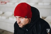 AW16 Czapka Zimowa Dwustronna Beanie Czerwona