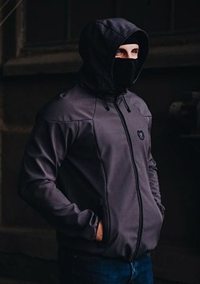 AW16 Softshell Active Szary S