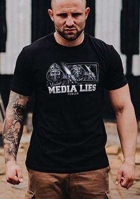 AW16 T-shirt Media Lies