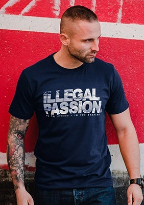 SS17 T-shirt Illegal Passion S