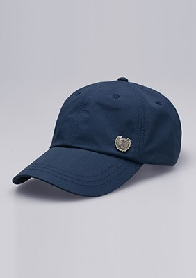AW17 Czapka Baseballowa Shield Navy