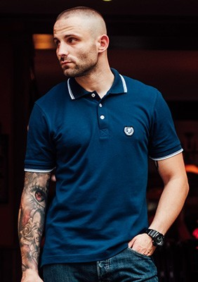 AW17 Polo Icon Navy S