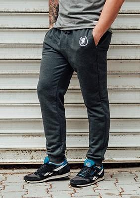 AW17 Spodnie Dresowe Sprint Ciemnoszare S