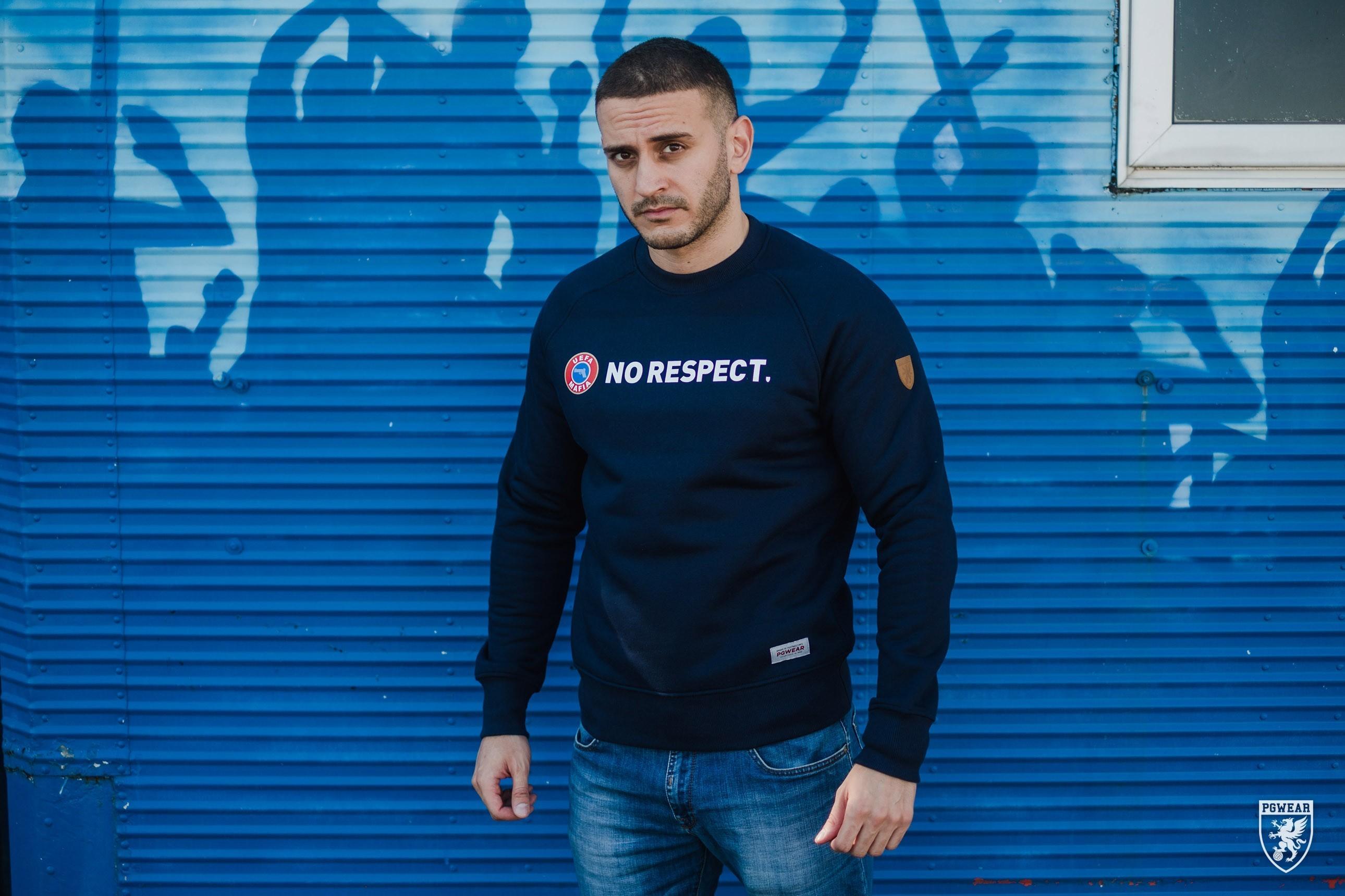AW17 Bluza No Respect S