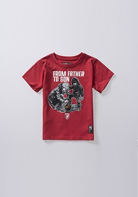 Kinder T-shirt From Father To Son