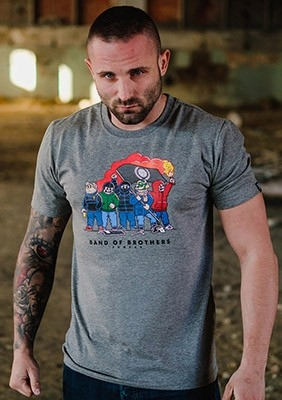 SS17 T-shirt Band of Brothers