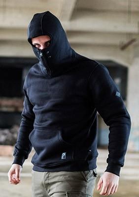 Ninja Kapuzenpulli Stealth Black