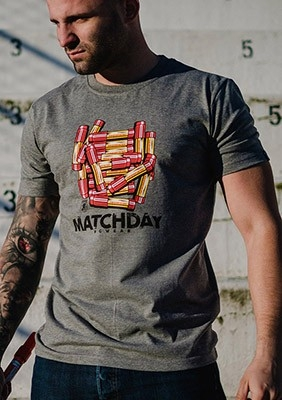 SS17 T-shirt Matchday Szary S