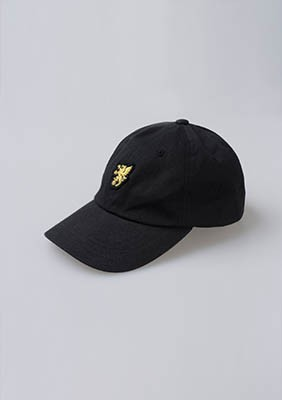Baseball Cap Basic Logo Black