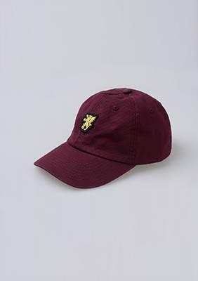 Baseball Cap Basic Logo Maroon