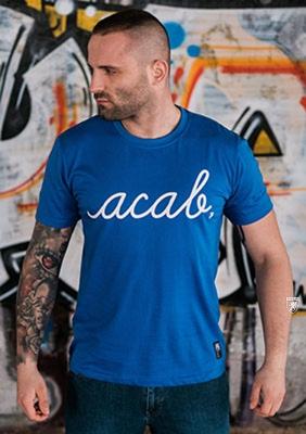 AllColours T-Shirt acab Pure Blue S