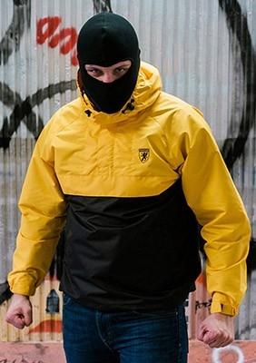 AllColors Kurtka Riot Black/Yellow S