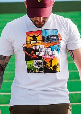 T-shirt Magic Moments White
