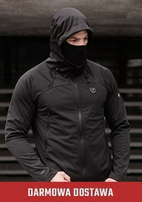 Kurtka Softshell Shadow Black